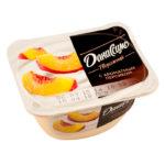 Данон Даниссимо творожный с ароматным персиком 130г