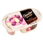 Данон творожок Даниссимо Фантазия 105гр с ягодными хрустящими шариками