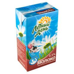 Молоко Летний День ж 3,5% 950мл