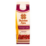 Йогурт Золотые Луга молочная вишня ж2,5 450г п/п