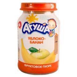Пюре АГУША ябл/банан 200 г