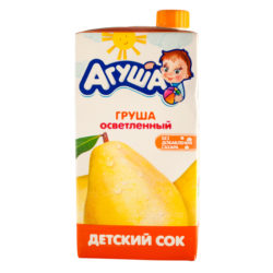 Сок Агуша груша осветл 200 г