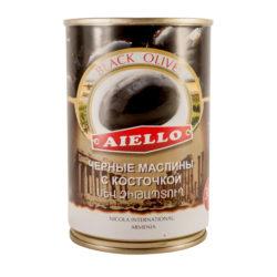 Маслины Aiello c/к 300 г ж/б