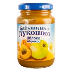 Пюре Бабушкино лукошко яблоко/абрикос 200 г