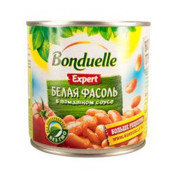 Фасоль Bonduelle белая в томатном соусе 400 г