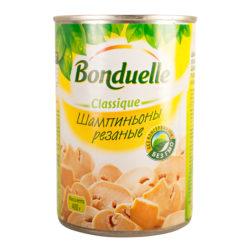 Шампиньоны Bonduelle резаные 400 гр ж/б