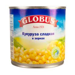 Кукуруза Globus сладкая 340 гр