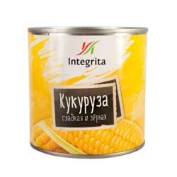 Кукуруза Интегрита сладкая 340 г ж/б
