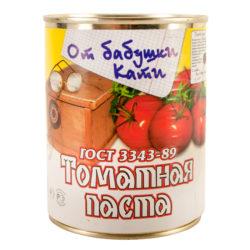 Томатная паста 25% 360 мл ж/б От бабушки Кати