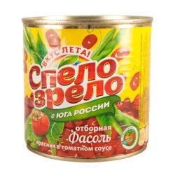 Фасоль красная в томатном соусе 425 мл ж/б Спело Зрело