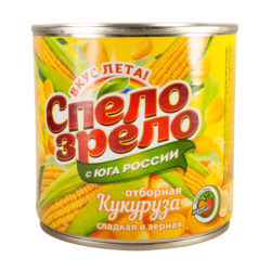 Кукуруза 420 гр ж/б Спело зрело