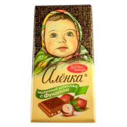 Шоколад Аленка молочный фундук 100 гр