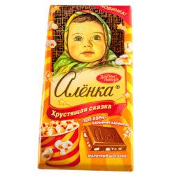 Шоколад Аленка хрустящая сказка 100 гр