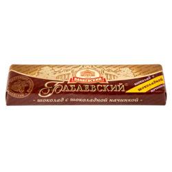 Шоколадный батончик Бабаевский шоколадная начинка 50 гр