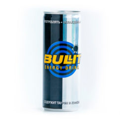 Напиток газ Bullit 0,25 л ж/б