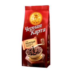 Кофе Черная Карта молотый 250 г м/у