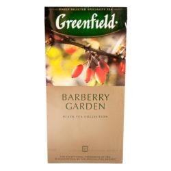 Чай Greenfield Вarberry Garden черный/барбарис 25*1,5 г