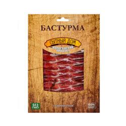 Бастурма мраморная из свинины с/в 70г Сытный дом
