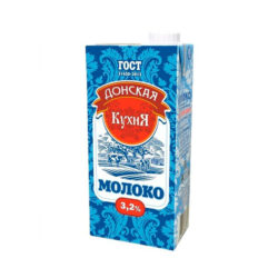 Молоко Донская кухня ж3,2 0,95л с/к