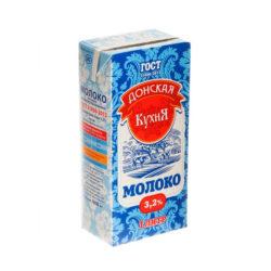 Молоко Донская кухня ж3,2 1л т/п у/паст