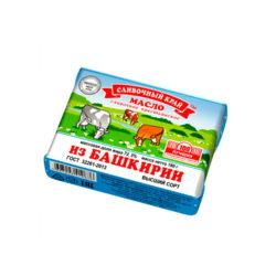 Масло Башкирское слив ж72,5 180гр Дары Масленицы