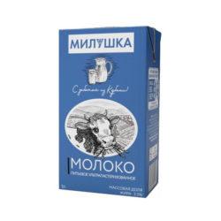 Молоко Милушка ж2,5 1л б/крышки