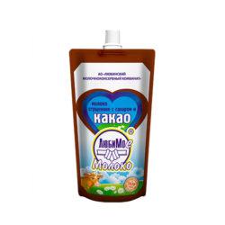 Молоко Любимое сгущ какао ж5 280г д/п