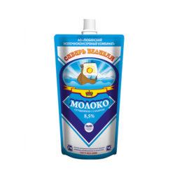 Молоко Cибирь Великая сгущ с сах ж8,5 280г д/п