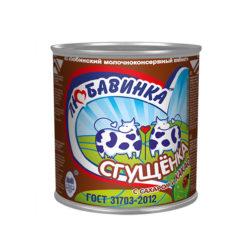 Сгущенка Любавинка с какао ж5 380г ж/б