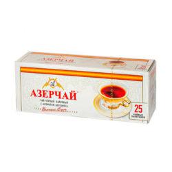 Чай Azercay чер/бергамот 25пак*2г б/конверта