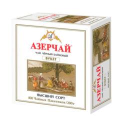 Чай Azercay Buket черн 100пак*2г
