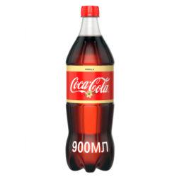 Н.газ Кока-Кола ваниль 0,9л пэт