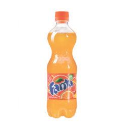 Н.газ ФАНТА апельсин 0,5л