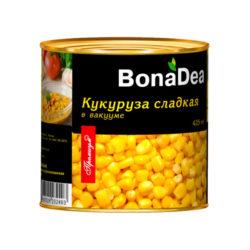 Кукуруза BonaDea 425г ж/б