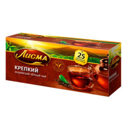 Чай Лисма крепкий черный 25пак*2г