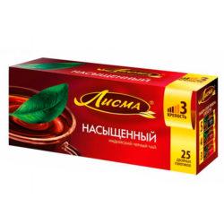 Чай Лисма Насыщ черн 25пак*2г