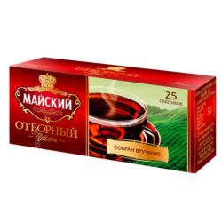 Чай Майский отбор черн 25пак*2г