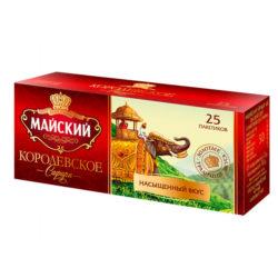 Чай Майский Королевское сафари 25пак*2гр