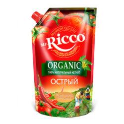 Кетч Mr.Ricco острый 350г д/п
