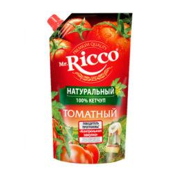 Кетч Mr.Ricco томатный 350г д/п