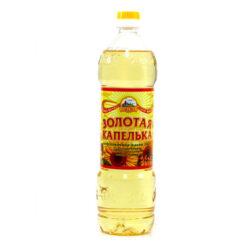 Масло Золотая Капелька подс раф дез 0,87л