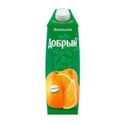 Нектар ДОБРЫЙ апельсиновый 1л
