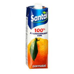 Сок SANTAL апельсин 1л ТРА Пармалат