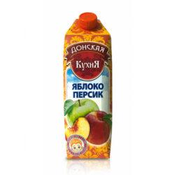 Нектар Донская кухня яблоко/персик 1л