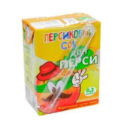 Сок Дон Перси персик 0,2л
