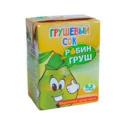 Сок Робин Груш грушевый 0,2л