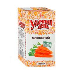 Нектар Удачный день морковный с/м 1л т/п