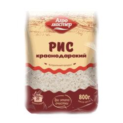 Крупа рис краснодар 800г Агромастер