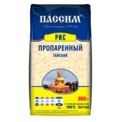 Крупа рис пропар Тайский 800г м/у Пассим