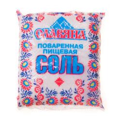 Соль Славяна 1кг пакет